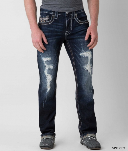 Rock Revival Morancy Straight Jean